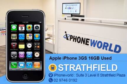Apple iPhone 3GS 16GB Used Very good condition Strathfield Strathfield Area Preview