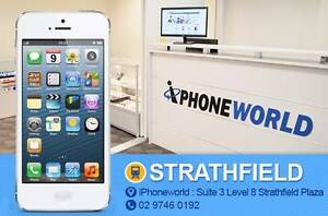 iPHONE 5 32GB 3 months WARRANTY + Free gift ! Strathfield Strathfield Area Preview