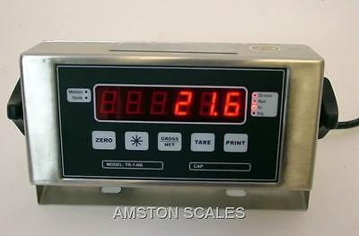 DIGITAL SCALE READ OUT INDICATOR DISPLAY LOAD CELL TRUCK FLOOR WEIGH ANIMAL VET on Rummage