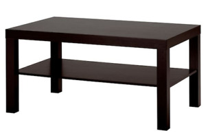 lack coffe table from ikea used