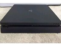 PS4 Slim Mint Condition 1 Pad All Wires disc drive not working