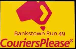 Couriers Please Bankstown Run for sale $55k Neg Bankstown Bankstown Area Preview