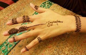 Natural Henna make you look fabulous and Stylish (Henna Tattoo)