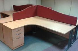 Clearance! Hurry while supplies last! -Home / Office Desks (pre-owned) - £50 each