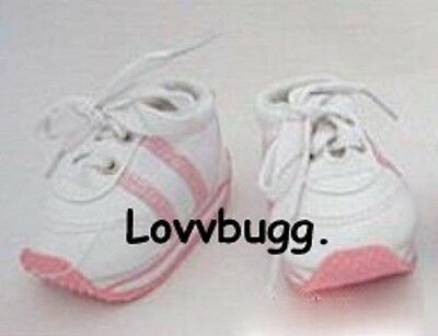 "Lovvbugg Realistic Pink Tennis for 18"" American Girl n Bitty Baby Doll Shoes"