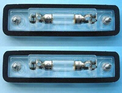 VAUXHALL SIGNUM VX220 SPEEDSTER OMEGA ZAFIRA NEW PAIR 2X NUMBER PLATE LAMP LIGHT