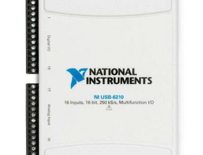 National Instruments Usb-6210 Ni Daq Multifunction Io 779675-01