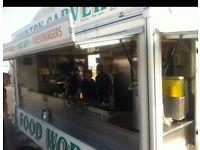 Outside catering unit / snack bar/ burger van & pitch.* Retirement Sale