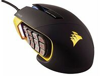 Corsair Gaming Mouse Scimitar RGB Moba/mmo 12000dpi Mechanical Button Yellow