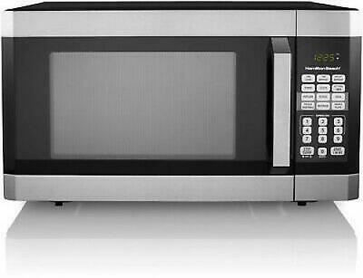 Family Size 1.6 Cu. Ft. Touch Screen Digital Microwave Oven, Stainless Steel