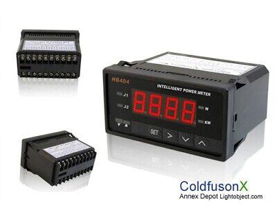 Digital Dc Power Watt Volt Amp Meter For Hho Car Golf