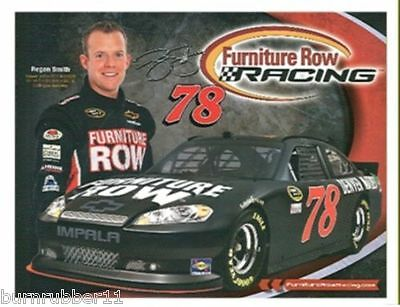 2012 Regan Smith  Furniture Row   78 Nascar Sprint Cup Postcard