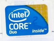 Intel Aufkleber