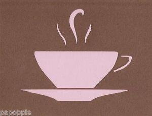 Coffee Stencil Set Kitchen Craft