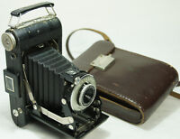 Antique Kodak Model Six-20 Folding Camera With Case