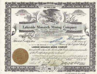 Lakeside Monarch Mining Co., 1950er