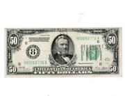 1928 50 Federal Reserve Note