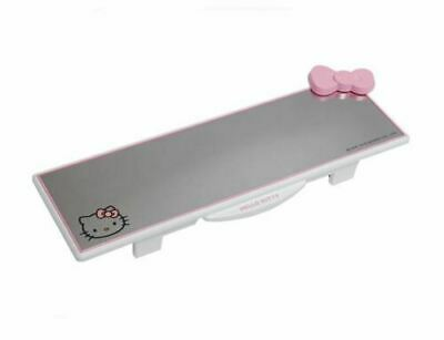 Hello Kitty Car Accessory Rearview Back Mirror Driving Ribbon Makeup Room Mirror