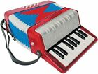 Accordions with 8 Bass Keys and 17 Treble Keys