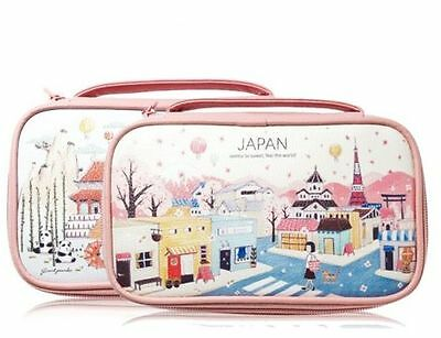 Etude House  Feel The World Pouch Travel Makeup Bag Cosmetic Pouch