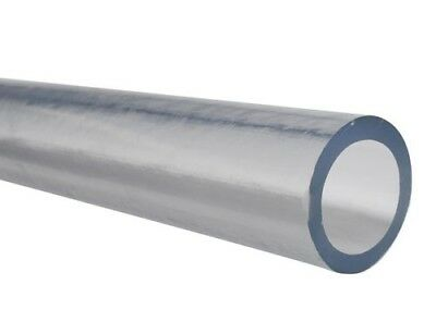 Soft Clear PVC Tubing for Air & Water - Inner Dia 1-1/2