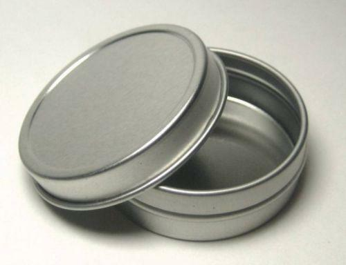 Metal tins ebay for Small tin containers