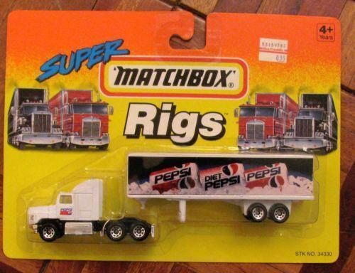 Semi Truck That S Also A Toy Car Holder : Matchbox truck trailer ebay
