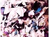 Approx.12kg of Shredded Fabric Stuffing for Crafts,Toys,Collages,Cushions Etc.