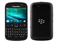 Blackberry Curve 9720 Mobile Smartphone Black Qwerty Keyboard 3G lock 02 GRADE B