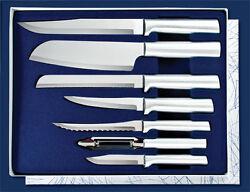 Rada Knife Gift Set 7 Pieces Plus Bonus Sharpener