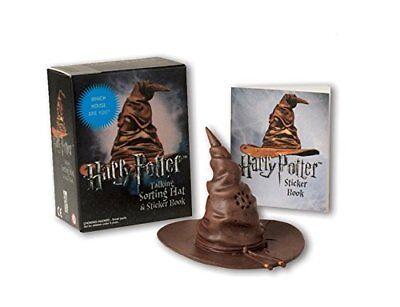 Sprechender Hut mit Stickerbuch ( Hut spricht wirklich ) Harry Potter Neu