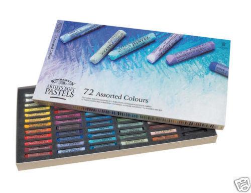 Winsor & Newton Soft Pastel Set 72 Colours