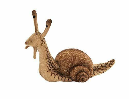 """Hansa Snail Plush Soft Toy 5"""" H"""