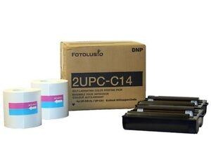 DNP 2UPC-C14 4x6in Print Media, Sony 2UPCC14 For Snap lab (fotolusio)