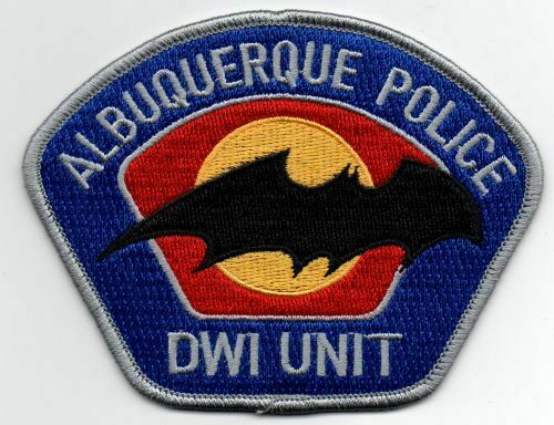 NEW MEXICO NM ALBUQUERQUE POLICE DWI UNIT NICE PATCH SHERIFF