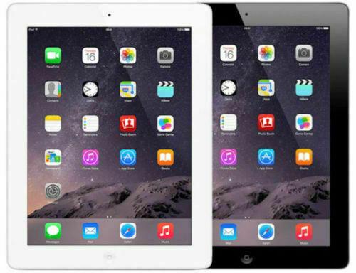 Apple iPad 4th Generation WIFI + Cellular with Retina Display 16GB, 32GB, 64GB