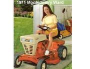 Montgomery Ward Riding Mower