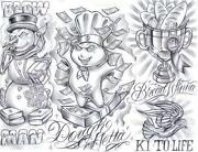 Tattoo Flash Sheets