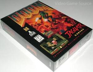 ATARI JAGUAR GAME CARTRIDGE: ### DOOM ###  *NEUWARE / BRAND NEW!
