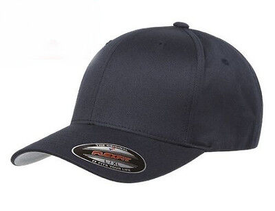 New Flexfit 6277 Wooly Cmbd Twill Fitted Baseball Cap Black Hat S/M,L/XL,2X Twill-fitted Cap