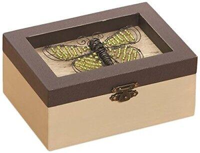 Christmas Treasure Chest (Big Sky Carvers Butterfly Treasure Chest ~ Christmas, birthday, gift, or)