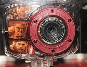 Avengers bicycle action camcorder