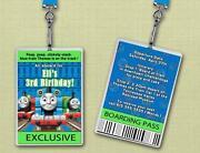 Thomas The Tank Engine Invitations
