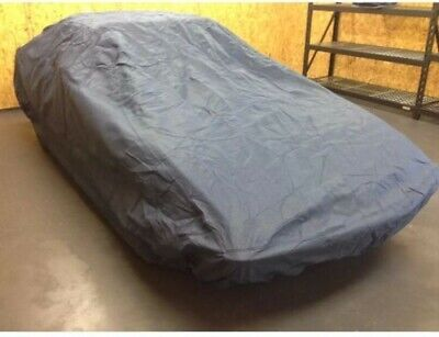 FOR JAGUAR E-TYPE CLASSIC 1961-1975 HEAVY DUTY WATERPROOF CAR COVER COTTON LINED