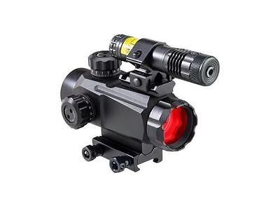 New BSA Tactical Advanced 35mm Red/Green Dot Sight w/ Laser TW35RGD-LRCP