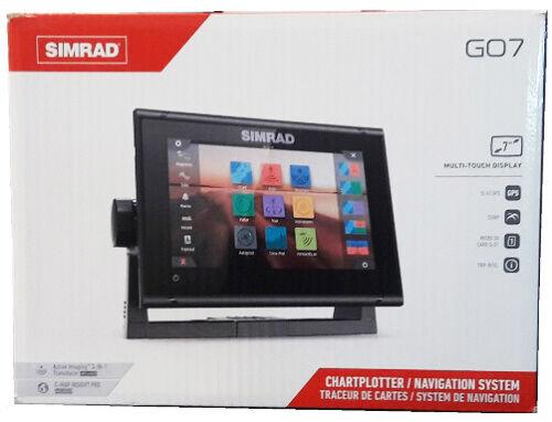 Simrad GO7 XSR GPS WiFi Chartplotter + CMAP PRO + Active Imaging 3-1 Transducer
