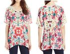 Silk Tunic Floral Johnny Was Tops for Women