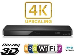PANASONIC 4K, 3D BLU RAY DVD PLAYER BUILT-IN WIFI ,INTERNET APPS ,USB DMP-BDT370