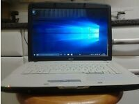 cheap , window's 10 laptop , acer + charger