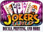 Jokers Wild Decals